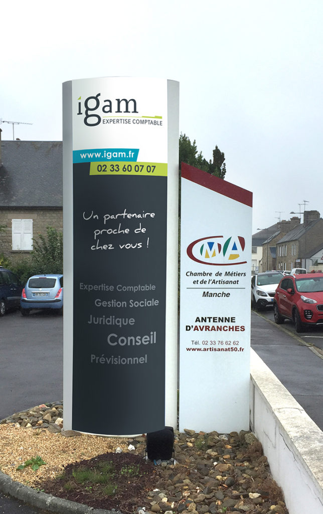 enseigne-igam-avranches-totem-cocktail-graphic